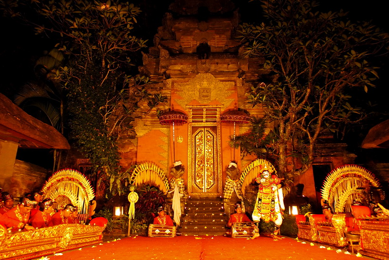 Ubud Palace Stage Performance