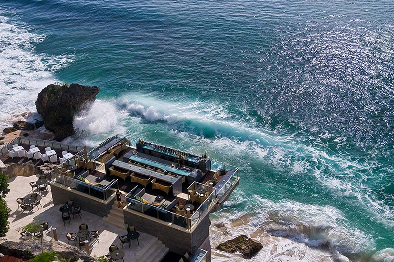 Ayana Resort's Rock Bar