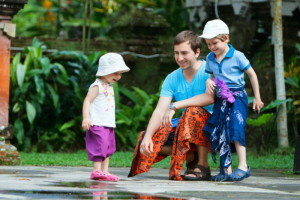 With Toddlers in Bali