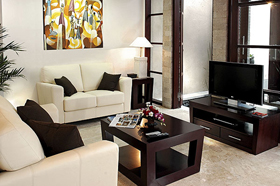 Living Room - Bugan Villas