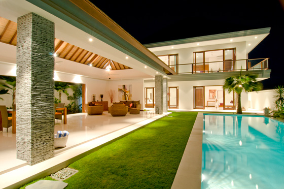 Villa sehati all bali villas for Beach house designs living upstairs